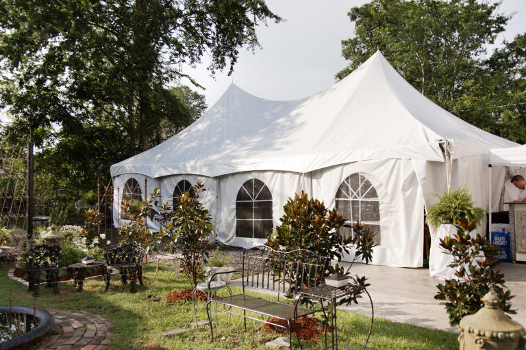 Our High Peak Tents can be set up on grass or cement. Sidewalls are available to enclose the tent. Draping chairs and linens are available for rent. & High Peak Tent - Celebrations Party and Event Rental | Hattiesburg MS
