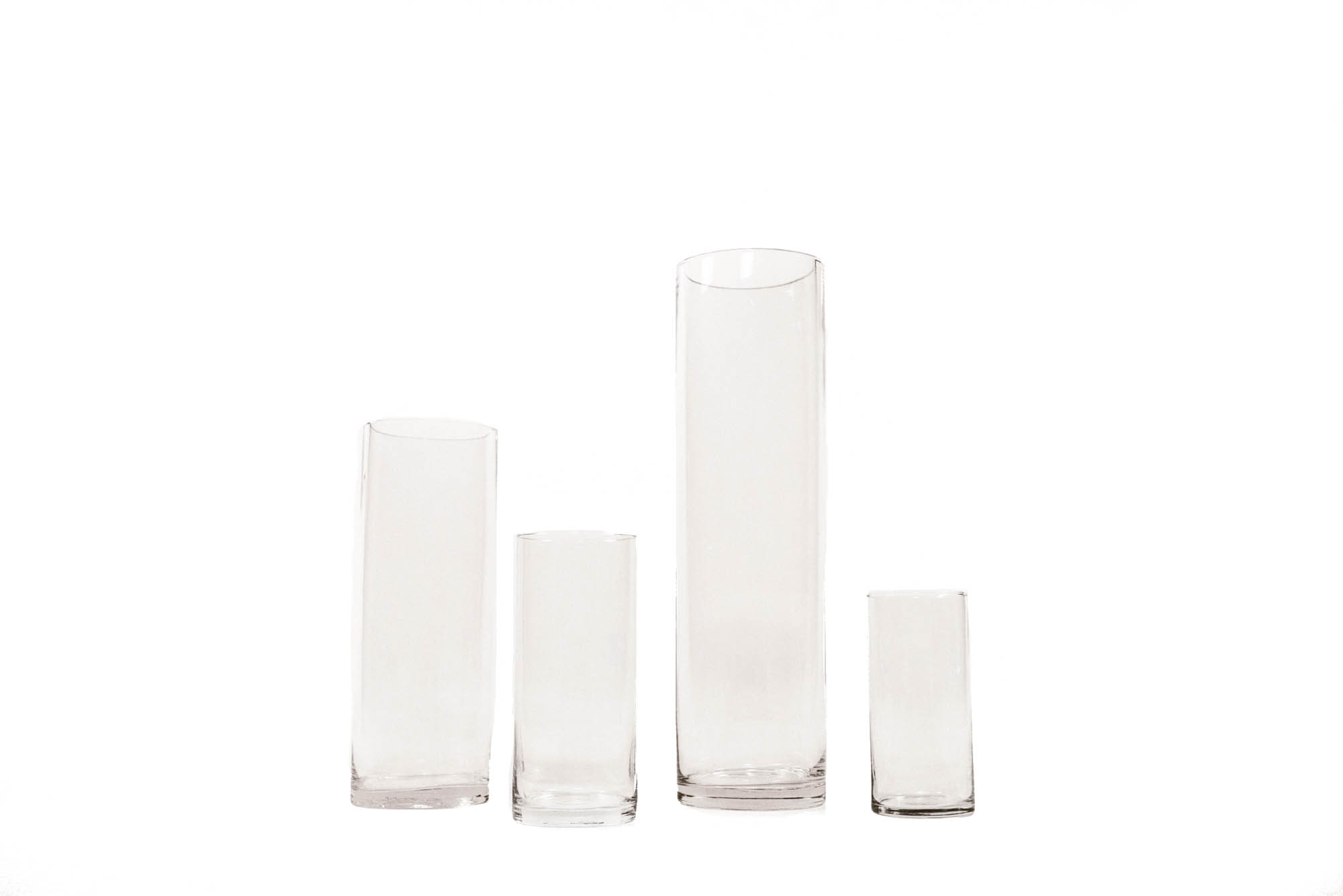 vase plastic tall large cylinder clear of glass set everythingbeauty info vases
